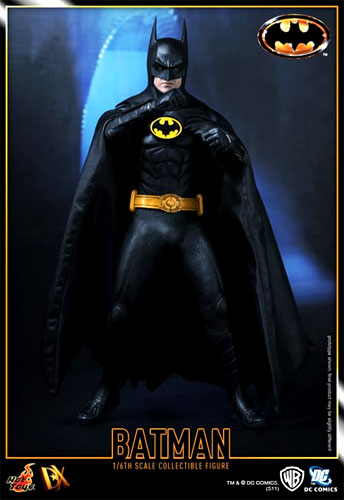 【代引不可】 HOTTOYS ホットトイズ ムービー・マスターピースDX 09 BATMAN 1/6スケール バットマン