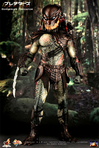 Hot toys movie masterpiece PREDATORS-predators - Berserker predator 1 / 6  scale figure