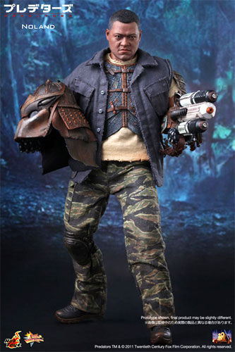 Hot toys movie masterpiece PREDATORS-predators - Noland 1 / 6 scale figure