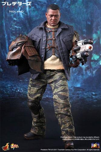 Hot toys movie masterpiece PREDATORS-predators - Noland 1 / 6 scale figure