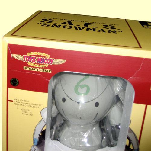 "Toys McCoy Ma.K. Maschinen Krieger 1 / 6 scale series 002 S.A.F.S ""SNOWMAN (snowman)"""
