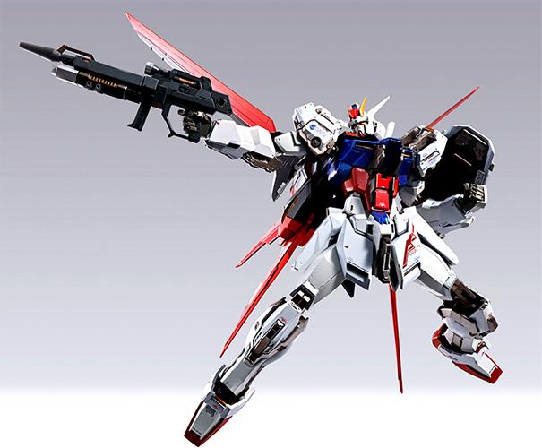 【代引不可/送料無料】バンダイ METAL BUILD -メタルビルド- 『機動戦士ガンダムSEED』 エールストライクガンダム