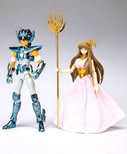 Bandai Saint cloth Saint cloth myth Pegasus arrows new bronze cloth-Broken Version-and Kido Saori-ORIGINAL COLOR EDITION ~