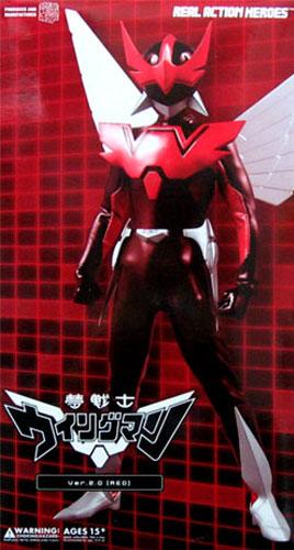 メディコム・トイ RAH DX リアルアクションヒーローズ No.384 夢戦士ウイングマン-Ver.2.0〔RED〕【ブラーンチ(分身)体 赤版】
