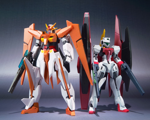 Bandai ROBOT spirits [SIDE MS] arios Gundam & GN Archer (arios set)