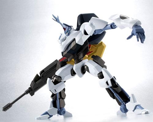 Oz white flame of Bandai ROBOT soul [SIDE KMF] cord gears 双貌