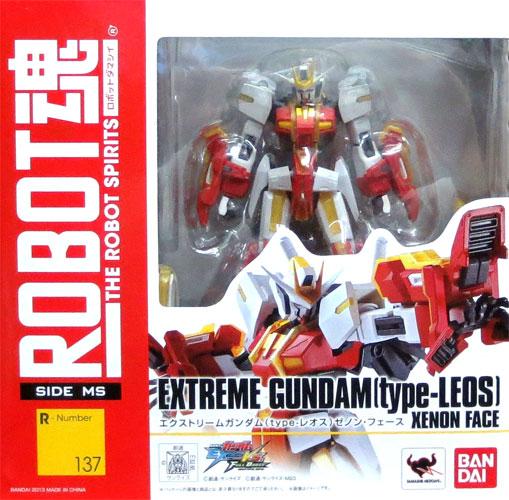 Bandai ROBOT soul [SIDE MS] extreme GUNDAM (type- Leos) Zenon force