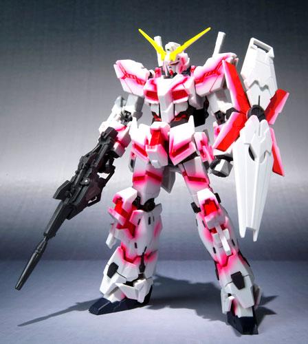 Bandai ROBOT spirits [SIDE MS] Unicorn Gundam destroy mode (psycho-frame light-emitting specifications)