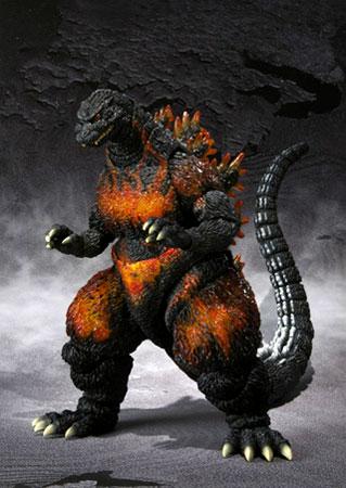 Bandai S. H. s.h.monstertarts Godzilla 1995 (burning Godzilla)