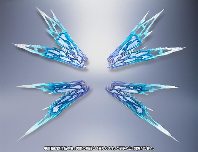 バンダイ METAL BUILD -メタルビルド- 『機動戦士ガンダムSEED DESTINY』 ストライクフリーダムガンダム用 光の翼 オプションセット