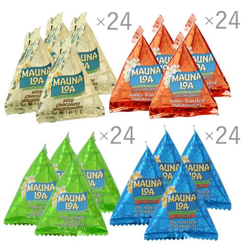 【ハワイアンホースト公式店】【得セット】マウナロアミニパック4種96袋セット ハワイ お土産