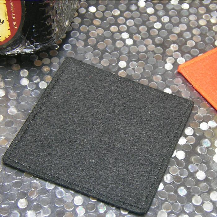 ノンスティックコースター[水滴が垂れない/吸収する/丸型/四角/ハート/吸い込む/吸水/濡れない]