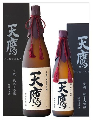 天鷹 有機純米大吟醸 槽搾り原酒 1800ml