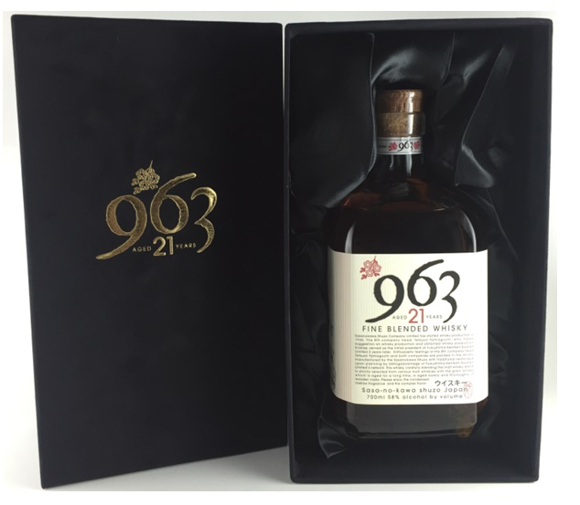 笹の川酒造 963 21年 ブレンデッドウイスキー 700ml