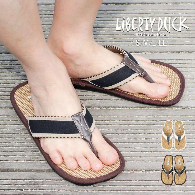 9798c9384 The casual sandals for the man to send from LIBERTY DUCK (liberty dark)!