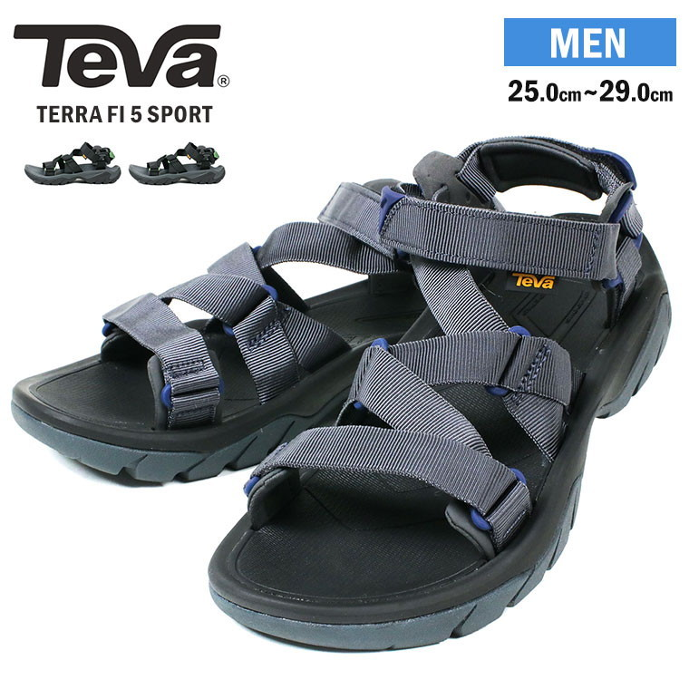 Fi Strap Men Sport Black Sports Sandals Outdoor Terra ブラックオリーブブーメランスポサ 5 Teva Aj534LqR