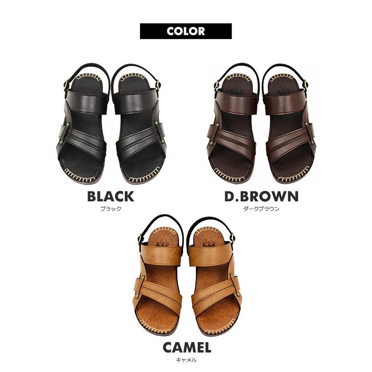 c7c5a4e42f8 S Mart Made In An 2 Way Casual Sandals Men Large Size Back