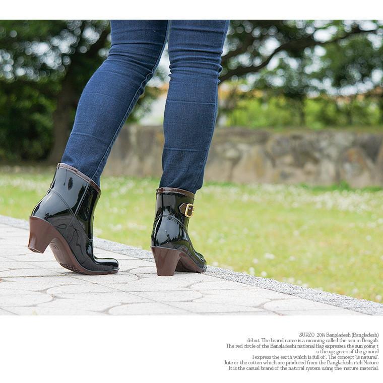 美腿靴女士短靴子靴子时尚靴子雪雨鞋流行深浅不一高跟鞋 ETSR-5030
