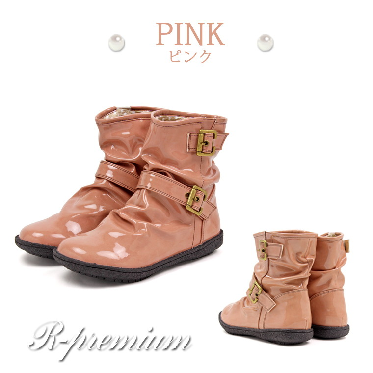 6e3eb8fae8a8 Cute rain boots women s boots black waterproof boots low heel boots ladies  rain shoes popular enamel long snowshoe hurt women s no easy-to-wear  comfortable ...