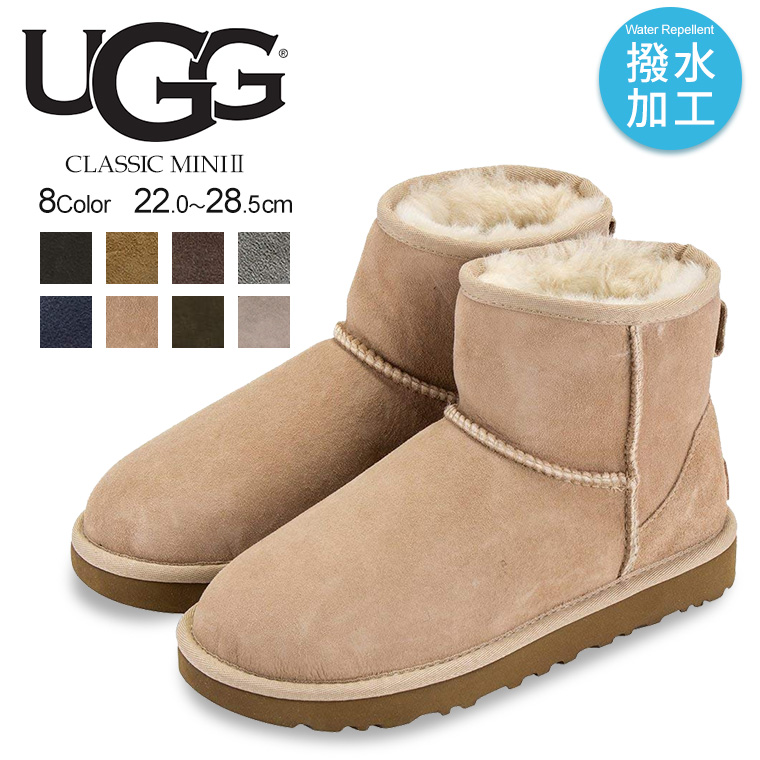 57a852535d6 UGG mouton boots Lady's CLASSIC MINI genuine leather スエードシープスキンアグクラシックミニ 2  drumstick flood control impurity ...