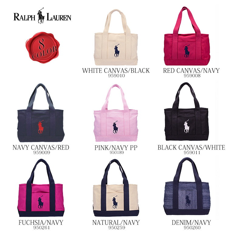 S-mart  Cute cute POLO RALPH LAUREN Tote SCHOOL TOTE MD school that ... deb1374781942