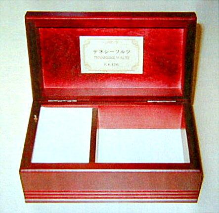 〔高音質18弁〕木製宝石箱オルゴール(AA186)