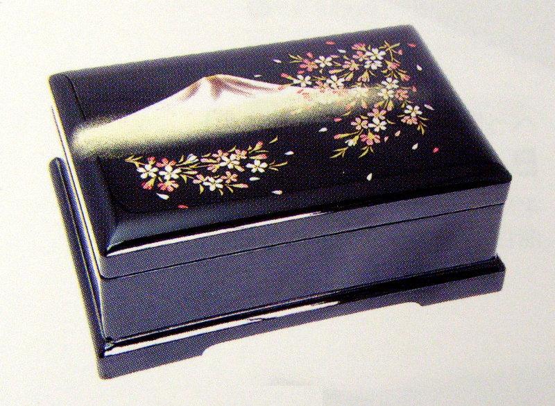 【返品不可】 (New)会津塗宝石箱オルゴールB700, マツシゲチョウ:a4e9e3f8 --- fabricadecultura.org.br