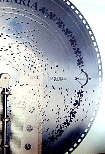 豪華な 人気海外一番 45弁最高級ディスクオルゴール フロアシリーズ 別売り45弁ディスオルゴール盤 1枚単位