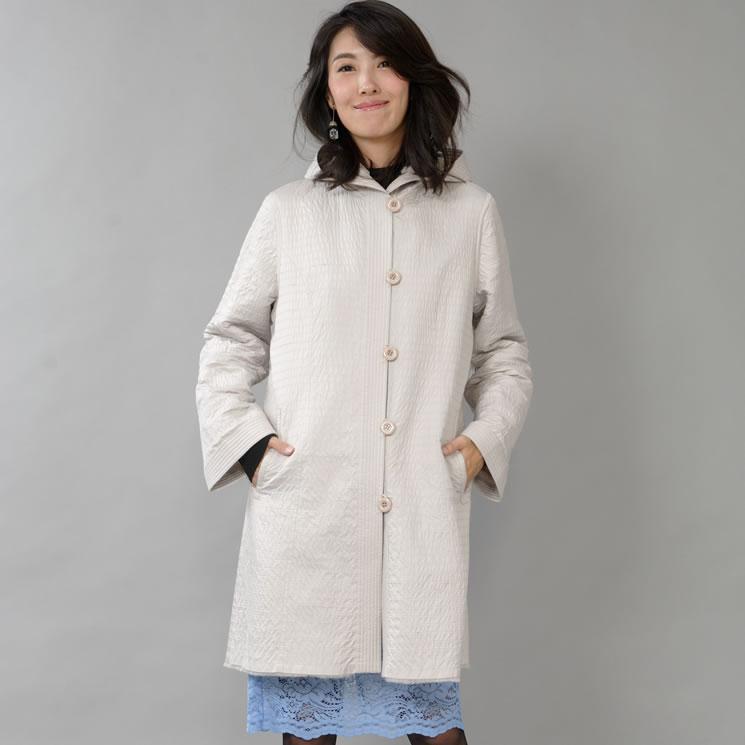 レッキスラビット レイヤード リバーシブル コート (RR6924)送料無料!! coat ウィメンズ ladies レディス 女性用 プレゼント ギフト リバーシブル 毛皮コート ミセス ファッション 40代 50代
