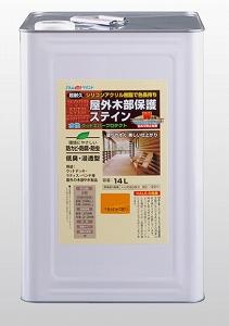 アトムペイント(塗料/ペンキ)水性ウッドエバープロテクト(ステイン)14L ライトオーク