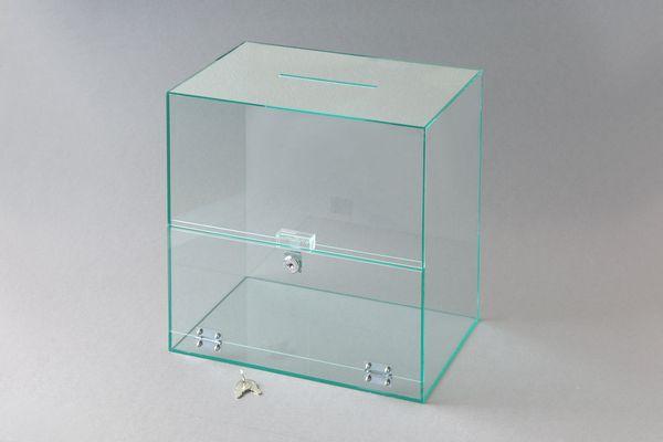 募金箱 幅(300)奥行(200)高さ(300)投入口(120×5)