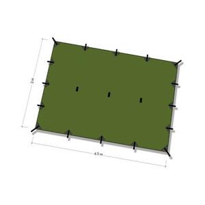 DDタープ Tarp 4.5×3 (オリーブグリーン)