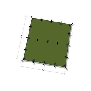 DDタープ Tarp 4x4 (オリーブグリーン)