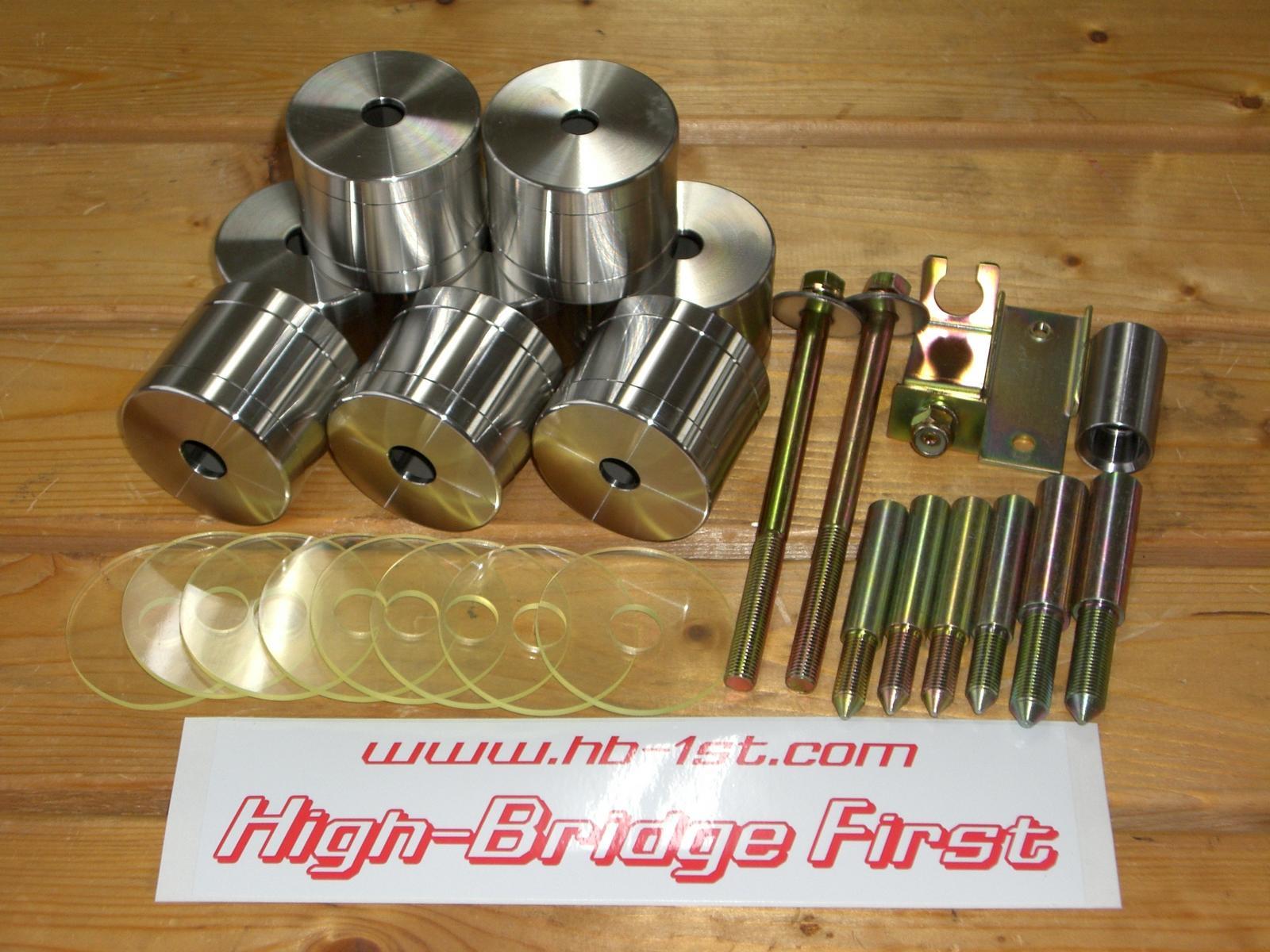 【ジムニーJB23/33/43 】HB1st50mmボディリフトキット23