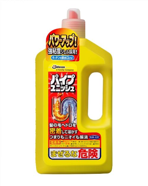 国内在庫 パワーアップ 強粘度ジェル採用 ジョンソン 卓越 パイプユニッシュ お風呂用洗剤 800g お風呂掃除