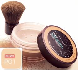 (销售不可)MAYBELLINE(美白灵)纯的矿物质粉饼PO1(粉红黄褐色1)