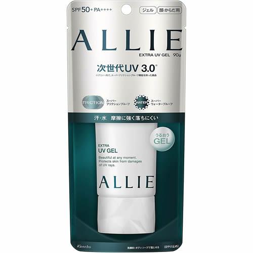 強力な紫外線から肌を守るUVジェル ALLIE アリィー エクストラUV ジェル カネボウ 数量限定特価 期間特売 信託 90g 至上