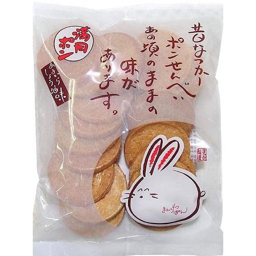 入荷予定 昔なつかしポンせんべい 満月ポン 60g×15袋 お菓子 松岡製菓 定番キャンバス
