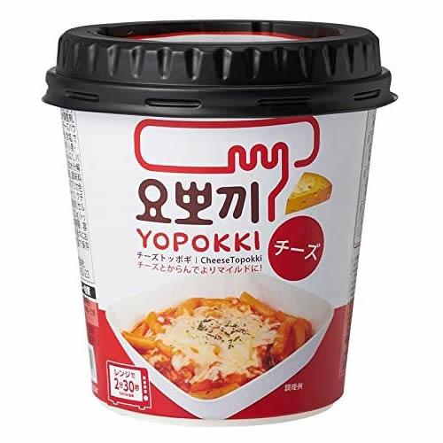 即席トッポギ ヨッポギ チーズ味 【120g×12個】(ヘテパシフィック)
