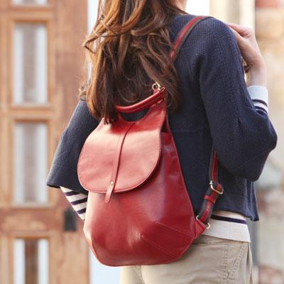 【PICARD】ロマンチック街道を歩きたい、一枚革で仕立てたレザーリュックZiegel(ツィーゲル) 367-MP0199B