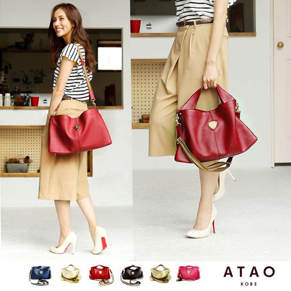 【ATAO】堅牢なレザーを贅沢に使ったバッグ elvy(エルヴィ)A4バッグ