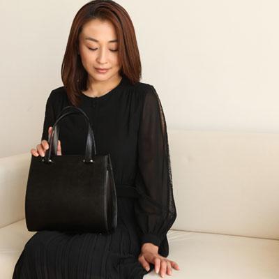 【傳濱野】水面に溶け込む雫のように持つ女性に寄り添うバッグ 雫フォーマルバッグ