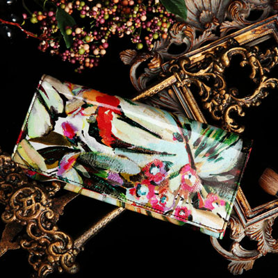 【FRUTTI】大胆なタッチで描く油絵みたいなALBA Tour(アルバ トゥール) FRUTTI DI BOSCO フルッティ ディ ボスコ 356-1032-02-6024