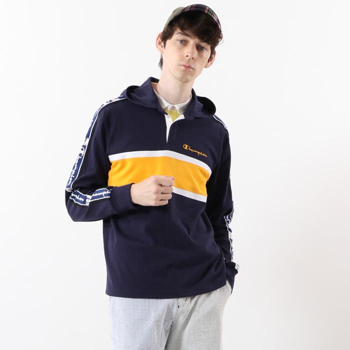 【公式】チャンピオン Champion ゴルフ ロングスリーブフードTシャツ 20SS【春夏新作】GOLF(C3-RG403)