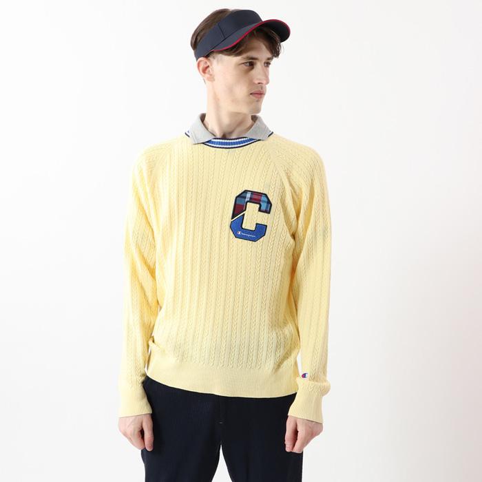 【公式】チャンピオン Champion ゴルフ セーター 20SS【春夏新作】GOLF(C3-RGA01)