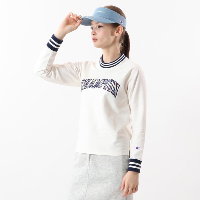 【公式】チャンピオン Champion ウィメンズ ゴルフ ロングTシャツ 20SS 【春夏新作】GOLF(CW-RG402)