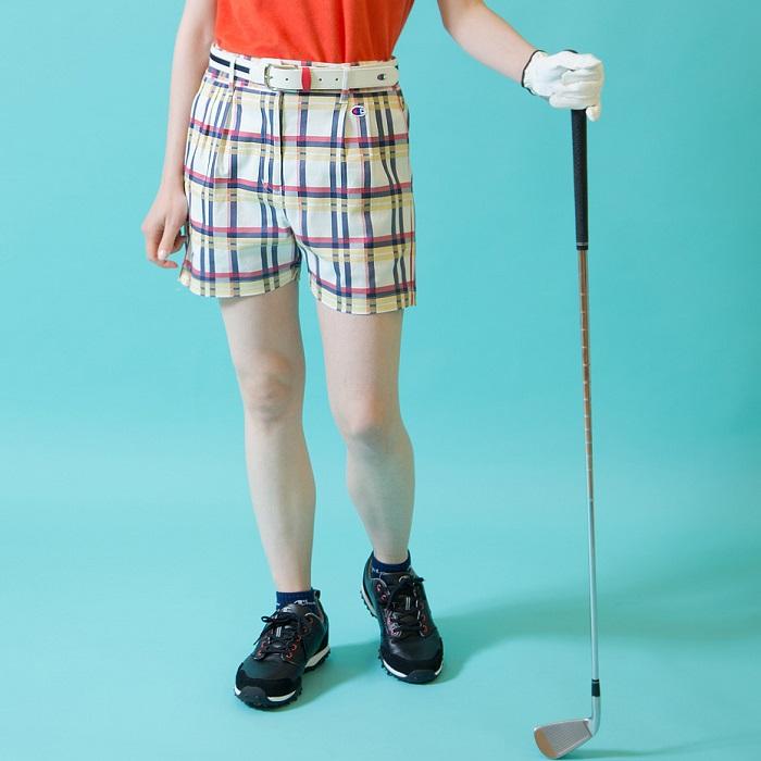 【公式】チャンピオン Champion ウィメンズ ゴルフ ショーツ 20SS 【春夏新作】GOLF(CW-RG502)