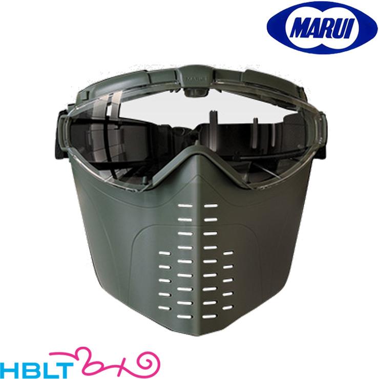 東京マルイ フルフェイス ゴーグル (ファン付 レンジャーグリーン) サバゲー 装備 /装備 サバゲー