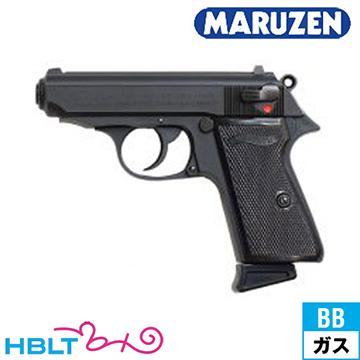 【マルゼン(Maruzen)】Walther PPK/S Black(ガスブローバックガン)/MZ/エアガン