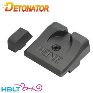 デトネーター サイト 東京マルイ ガスブローバック グロック17 グロック18C 用 HEINIE Slant Pro タイプ /Glock17 G17 Glock18c G18c DETONATOR ST-TM04 カスタムパーツ サバゲー